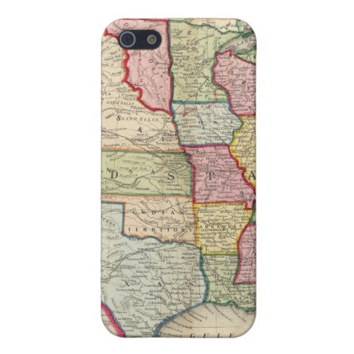 Map Of The United States, And Territories iPhone 5 Case