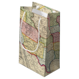 Map Of The United States, And Territories Small Gift Bag