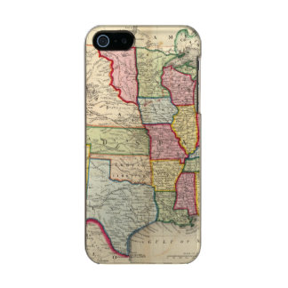 Map Of The United States, And Territories Incipio Feather® Shine iPhone 5 Case