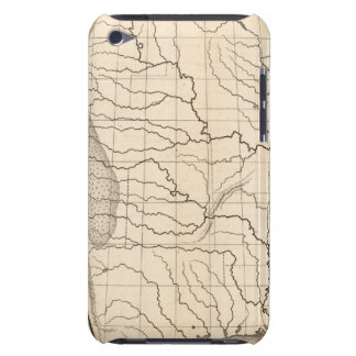 Map of the United States and Texas Barely There iPod Cover