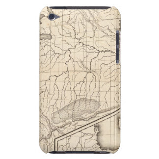 Map of the United States and Texas iPod Touch Case