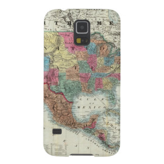 Map Of The United States, Canada, Mexico Cases For Galaxy S5