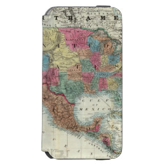 Map Of The United States, Canada, Mexico Incipio Watson™ iPhone 6 Wallet Case