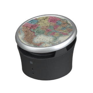 Map Of The United States, Canada, Mexico Speaker
