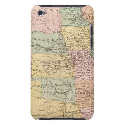 Map of the United States of America 3 Barely There iPod Cover