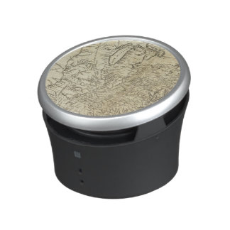 Map of the United States of America Bluetooth Speaker