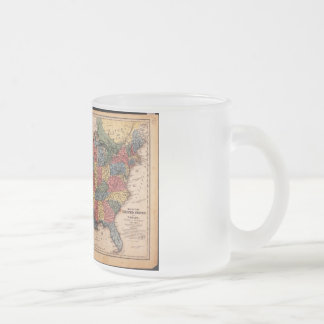 Map of the United States of America in 1853 Coffee Mug
