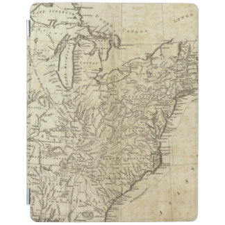 Map of the United States of America iPad Cover