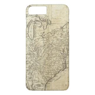 Map of the United States of America iPhone 8 Plus/7 Plus Case