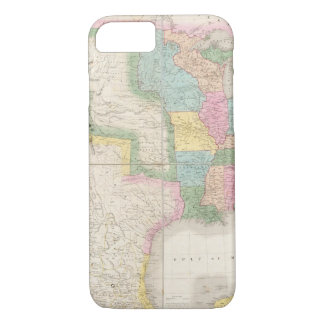Map of the United States Of North America iPhone 8/7 Case