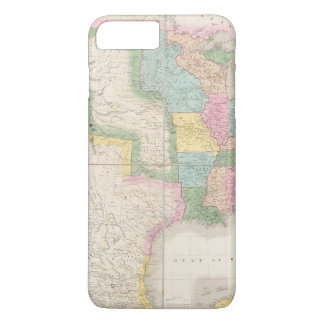 Map of the United States Of North America iPhone 8 Plus/7 Plus Case