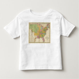Map of The United States Toddler T-Shirt