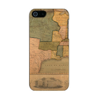 Map of The United States with George Washington Incipio Feather® Shine iPhone 5 Case