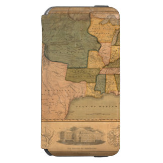 Map of The United States with George Washington Incipio Watson™ iPhone 6 Wallet Case
