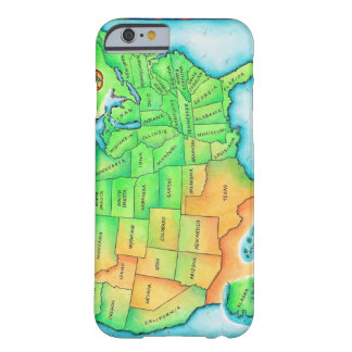 Map of the USA Barely There iPhone 6 Case