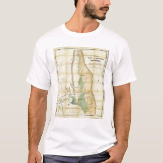 Map of the Valley of the Sacramento T-Shirt