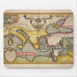 Map of the Voyage of the Argonauts Mouse Mat