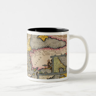 Map of the Voyage of the Argonauts Two-Tone Coffee Mug