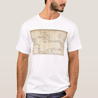 Map of the West Indies 2 T-Shirt