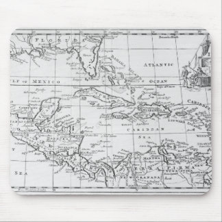 Map of the West Indies Mouse Mat