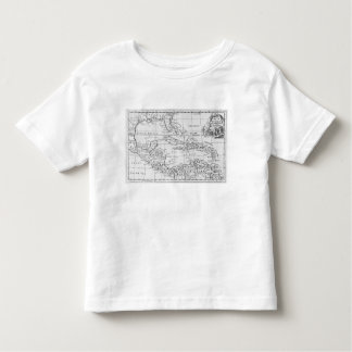 Map of the West Indies Toddler T-Shirt