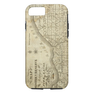 Map of The Western Reserve iPhone 8/7 Case