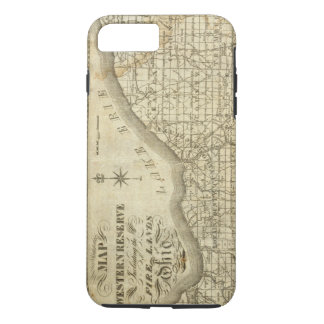 Map of The Western Reserve iPhone 8 Plus/7 Plus Case