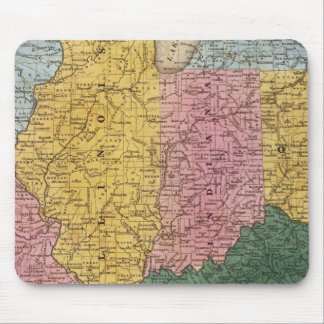 Map of the Western States Mouse Mat