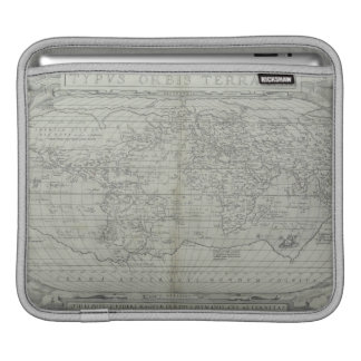 Map of the World 10 iPad Sleeve
