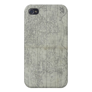 Map of the World 10 iPhone 4 Cover