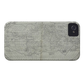 Map of the World 10 iPhone 4 Covers