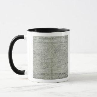 Map of the World 10 Mug