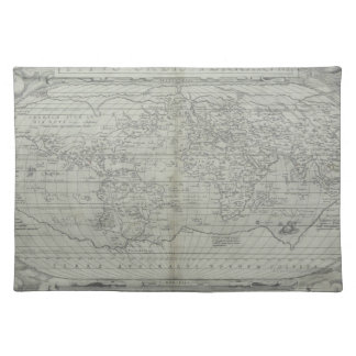 Map of the World 10 Placemat