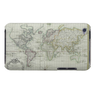 Map of the World 11 Barely There iPod Case