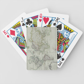Map of the World 11 Bicycle Playing Cards