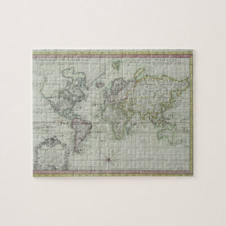 Map of the World 11 Jigsaw Puzzle