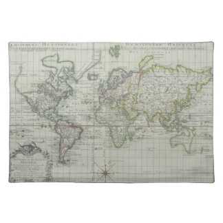 Map of the World 11 Placemat