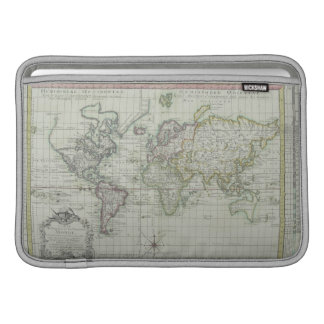 Map of the World 11 Sleeve For MacBook Air
