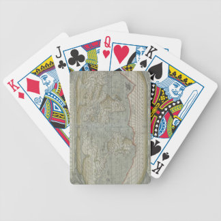 Map of the World 12 Bicycle Playing Cards