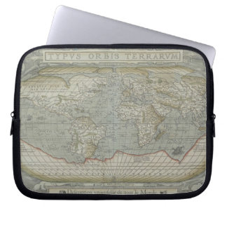 Map of the World 12 Computer Sleeves