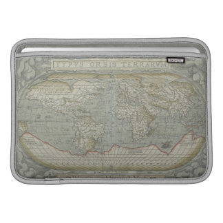 Map of the World 12 MacBook Air Sleeves