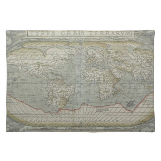 Map of the World 12 Placemat