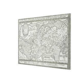 Map of the World 13 Canvas Print