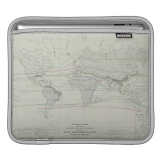 Map of the World 13 iPad Sleeve
