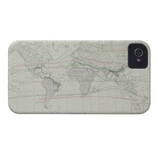 Map of the World 13 iPhone 4 Cover