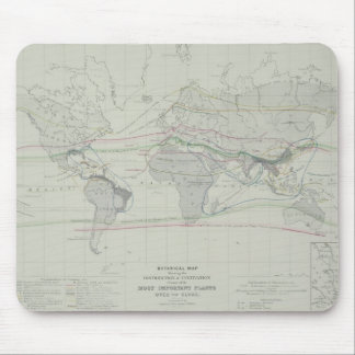 Map of the World 13 Mouse Mat