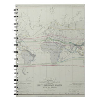 Map of the World 13 Notebooks