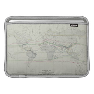 Map of the World 13 Sleeve For MacBook Air
