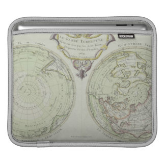 Map of the World 14 iPad Sleeve
