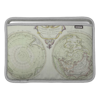 Map of the World 14 MacBook Sleeve